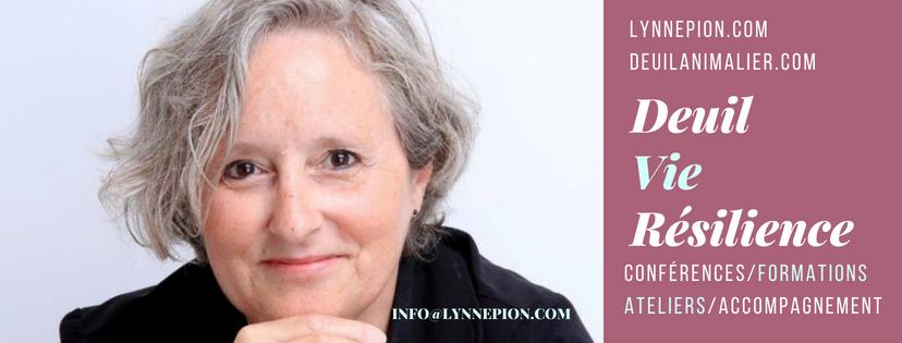 Lynne Pion référence en francophonie en matière de deuil animalier
