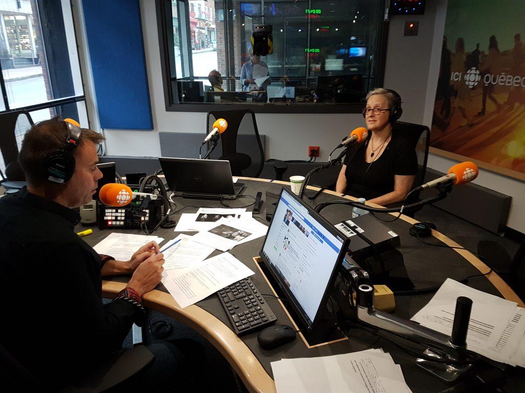 On discute deuil animalier sur les ondes de Ici première Radio-Canada Lynne Pion
