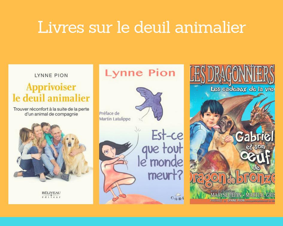 Deuil animalier Lynne Pion